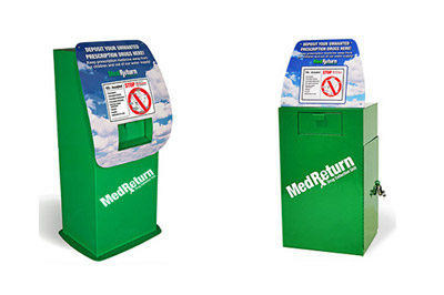 Safe disposal of unused, unwanted or expired prescription drugs